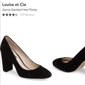 Louise Et Cie Jianni Stacked Pump